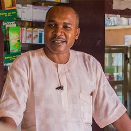 Olajide Olufemi, Superintendent Pharmacist at IVE Pharmacy